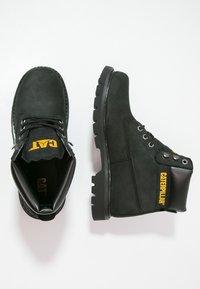 Cat Footwear - COLORADO - Snörstövletter - black - 1