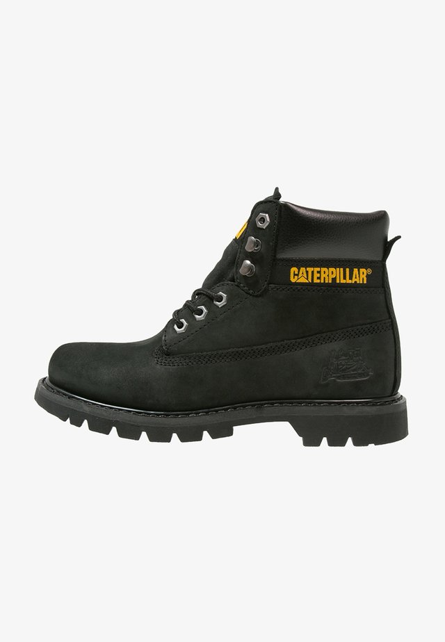 COLORADO - Bottines à lacets - black