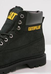 Cat Footwear - COLORADO - Snörstövletter - black - 5