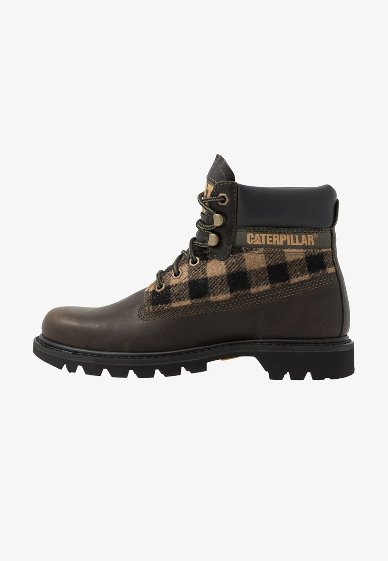 Cat Footwear - COLORADO - Lace-up ankle boots - olive night