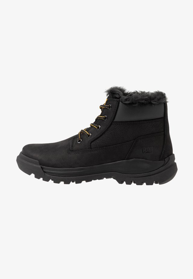 VOLT - Bottines à lacets - black