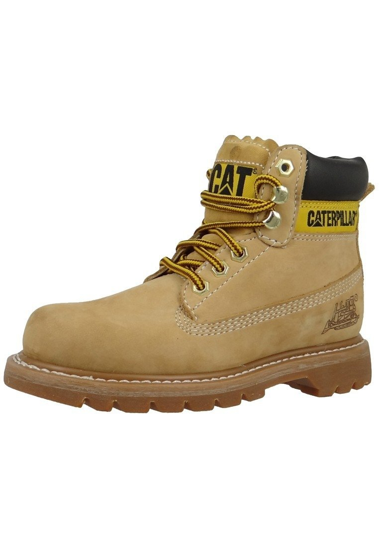 Cat Footwear - COLORADO - Lace-up ankle boots - honey
