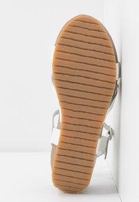 Ca'Shott - Sandály na platformě - bianco - 6
