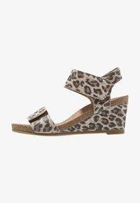 Ca'Shott - Wedge sandals - beige - 1