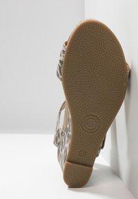 Ca'Shott - Wedge sandals - beige - 6