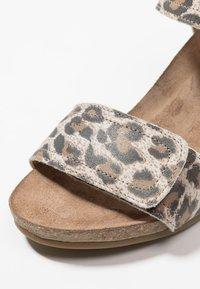 Ca'Shott - Wedge sandals - beige - 2