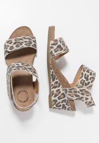 Ca'Shott - Wedge sandals - beige - 3