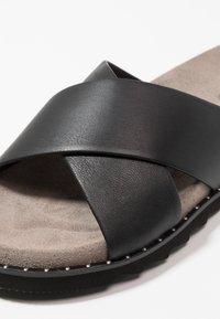 Ca'Shott - Pantolette flach - black - 2