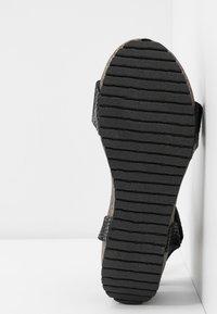 Ca'Shott - Sandály na platformě - thelma black - 6