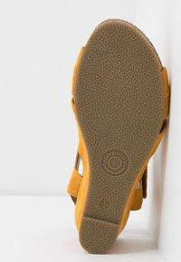 Ca'Shott - Sandály na klínu - sun - 6
