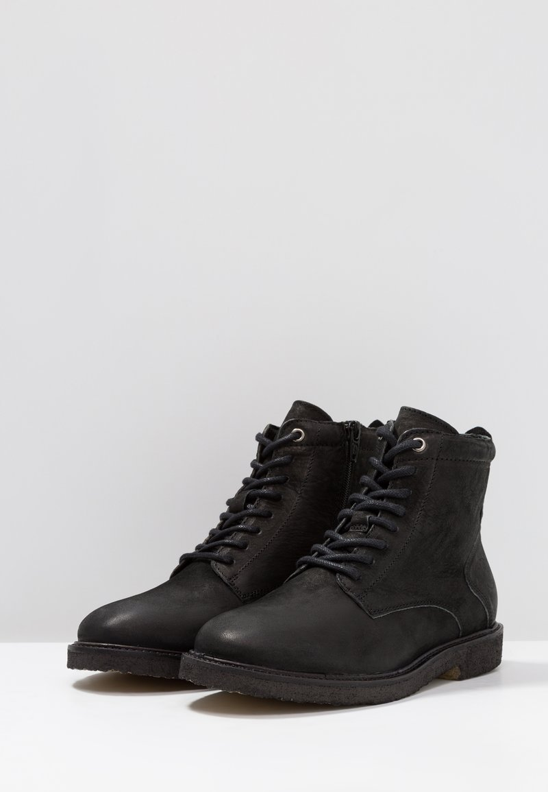 Bandolero Black À Lacets Bottines Ca'shott EID9WH2