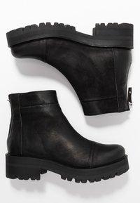 Ca'Shott - Platåstøvletter - black bandolero - 3