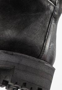 Ca'Shott - Platåstøvletter - black bandolero - 2