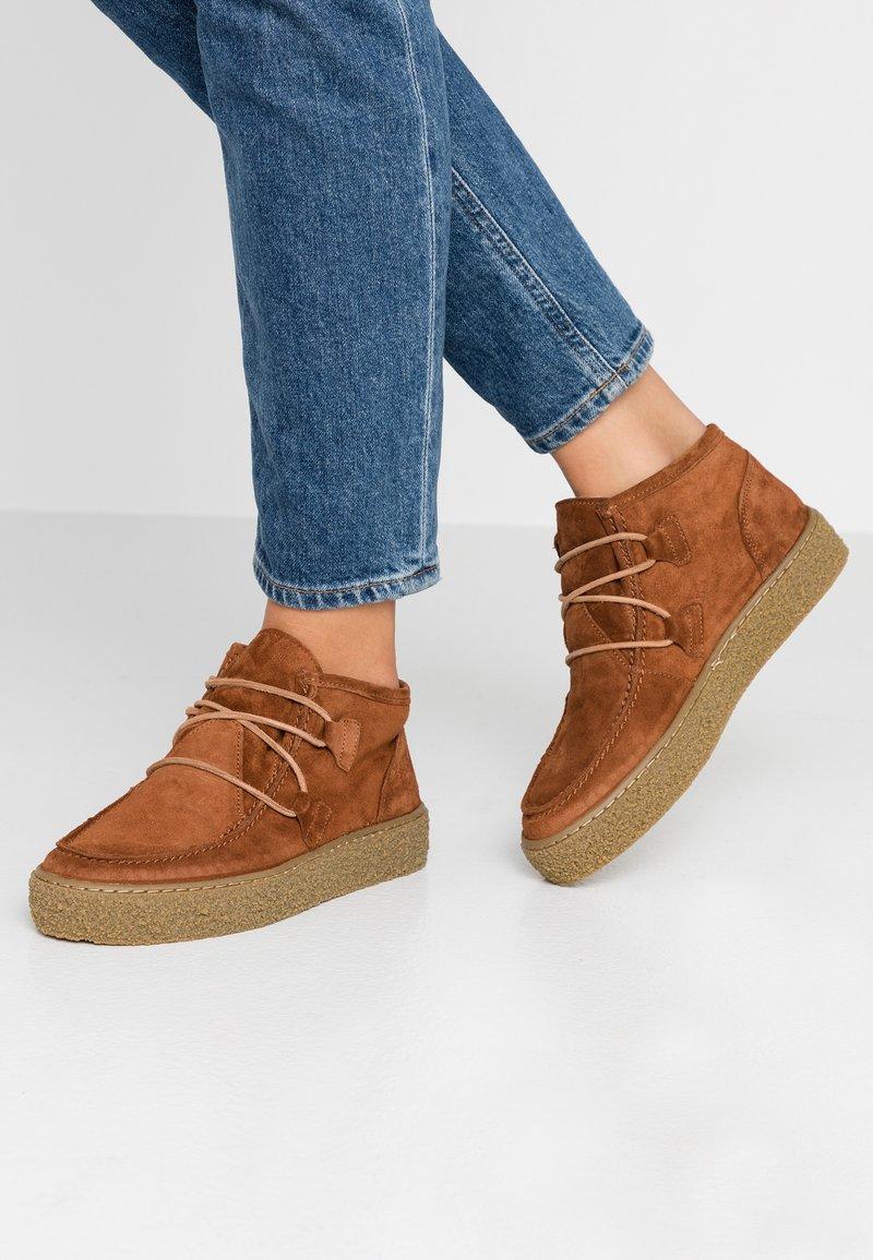 Ca'Shott - Ankle Boot - cognac