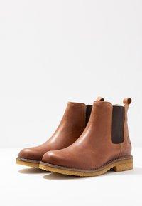 Ca'Shott - Classic ankle boots - camel west - 4