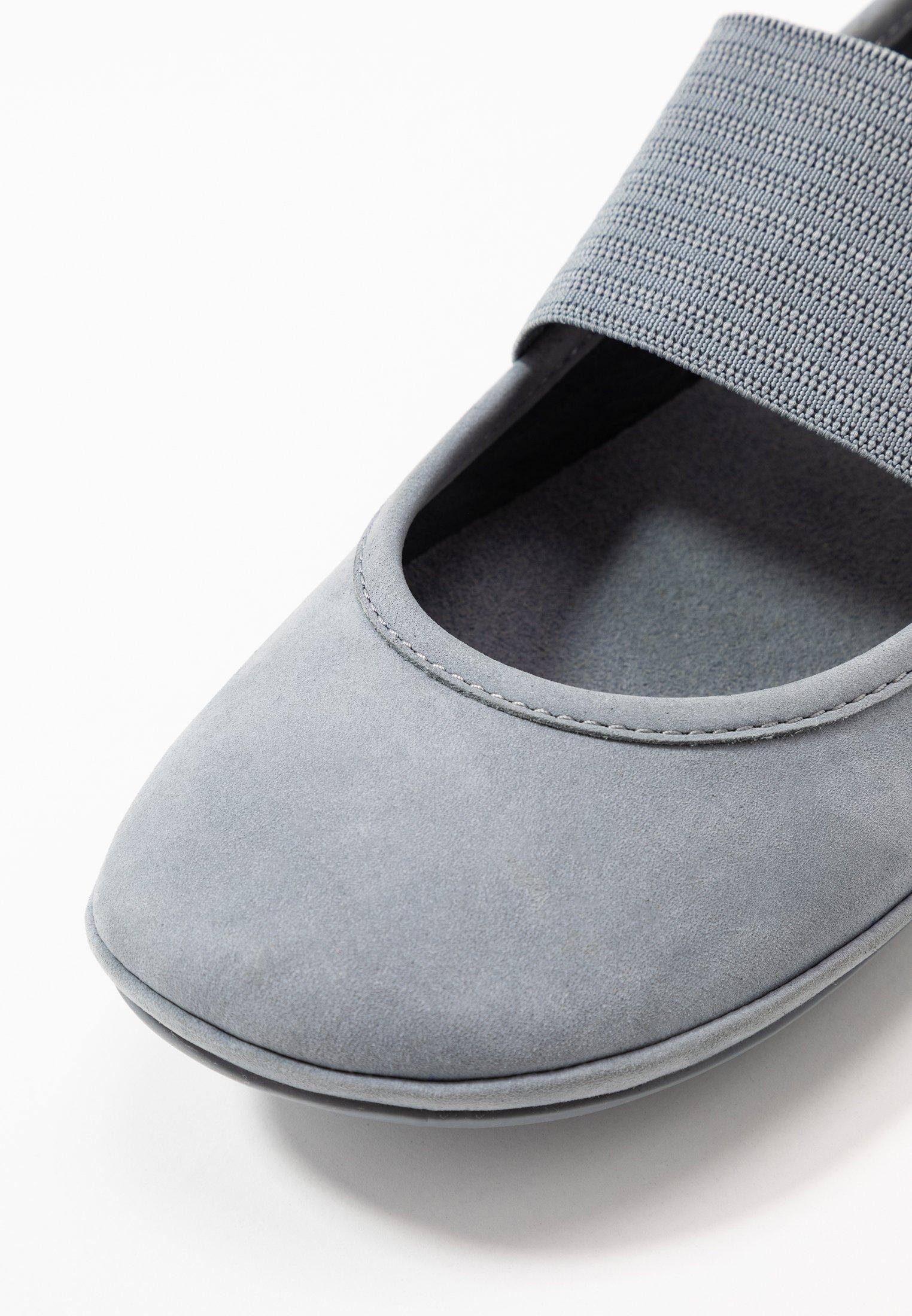 Camper RIGHT NINA - Baleriny z zapięciem - medium grey