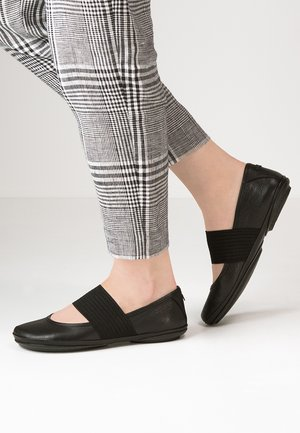 RIGHT NINA - Ankle strap ballet pumps - black
