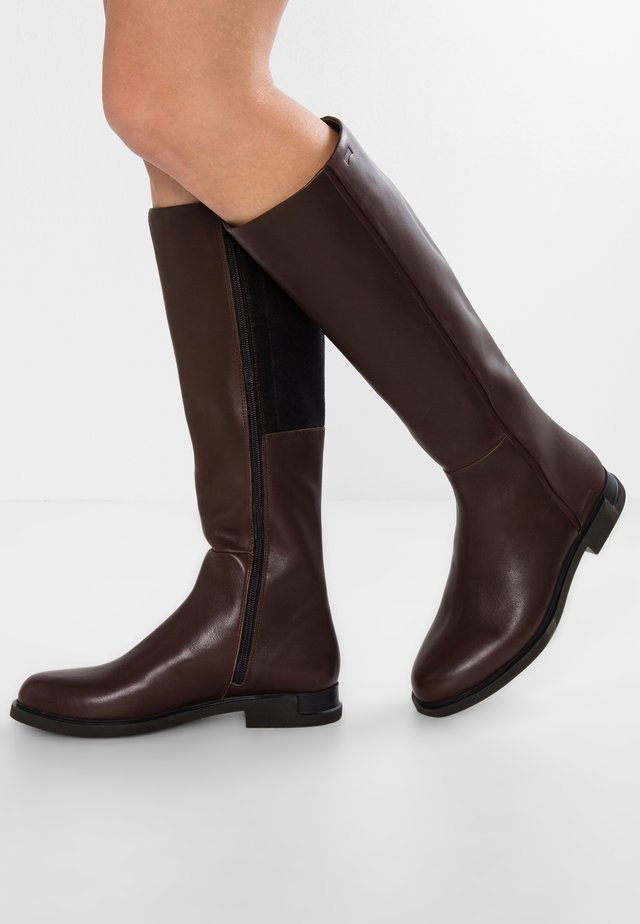 IMAN - Botas - medium brown
