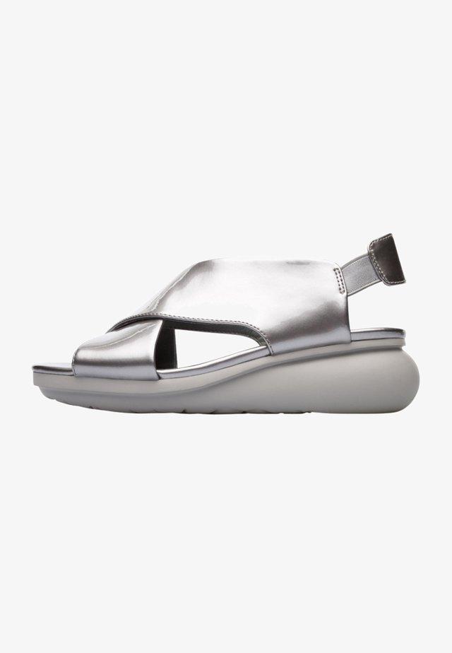 BALLOON - Sandalias - grey