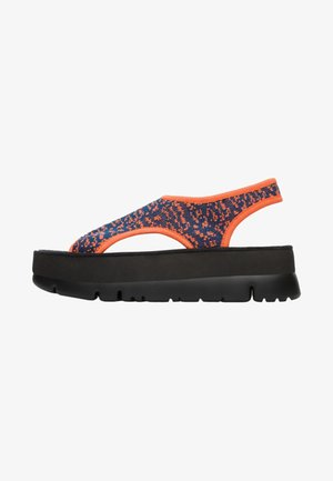 ORUGA UP - Platform sandals - multi-colored