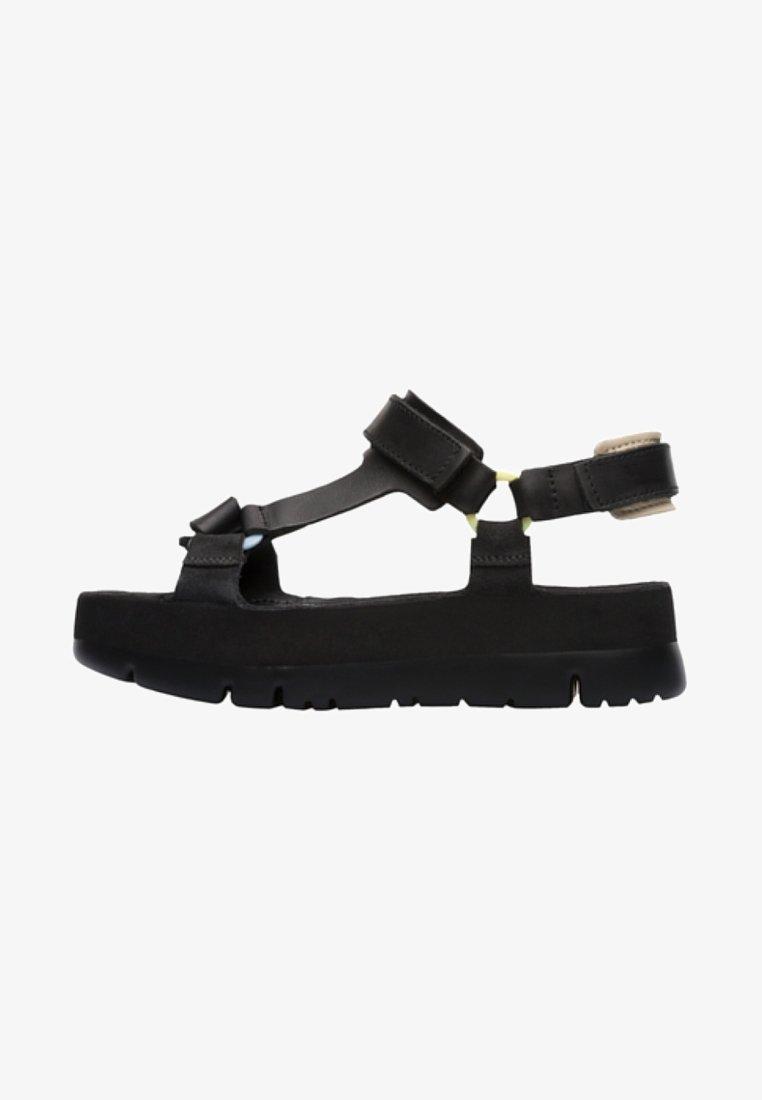 Camper - ORUGA UP - Platform sandals - black