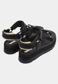 Camper - ORUGA UP - Platform sandals - black - 3