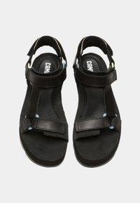 Camper - ORUGA UP - Platform sandals - black - 1