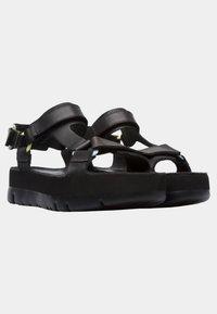 Camper - ORUGA UP - Platform sandals - black - 2