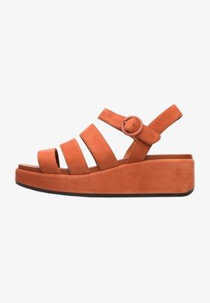 MISIA - Sandales compensées - brown
