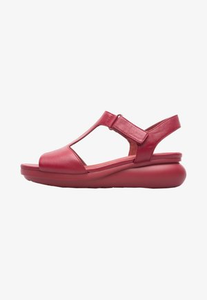 BALLOON - Wedge sandals - red