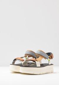 Camper - ORUGA - Sandalias con plataforma - multicolor - 4