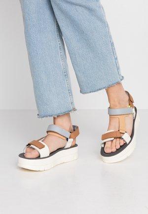 ORUGA - Platform sandals - multicolor