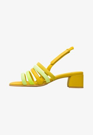 TWINS - Sandals - yellow