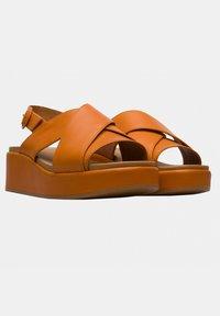 Camper - Sandalias con plataforma - orange - 2