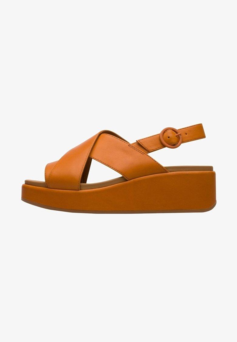 Camper - Sandalias con plataforma - orange