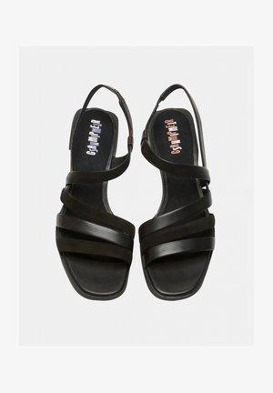 TWINS  - Sandals - schwarz