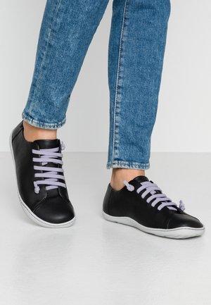 PEU CAMI - Volnočasové šněrovací boty - black