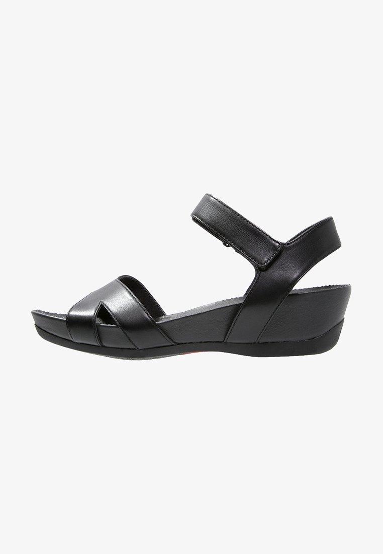 Camper - MICRO - Sandalias con plataforma - black