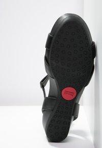 Camper - MICRO - Sandalias con plataforma - black - 4