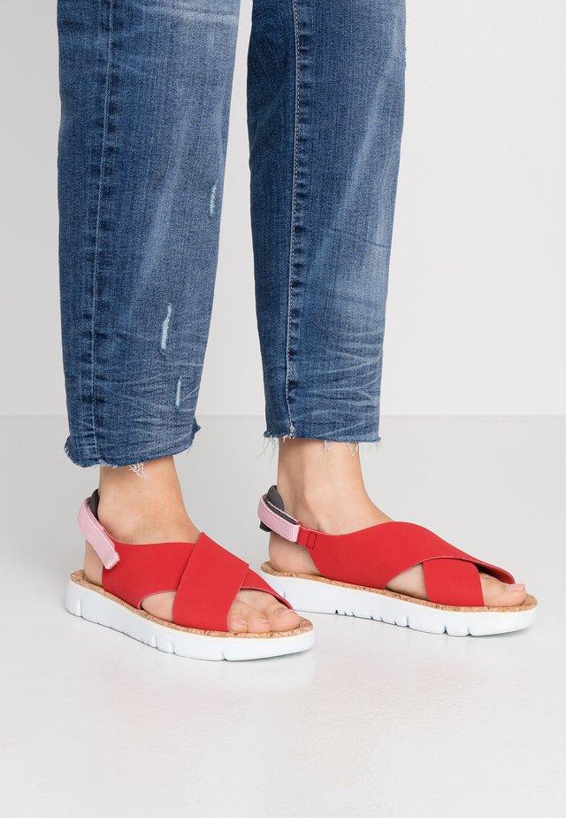 ORUGA - Sandalias - medium red