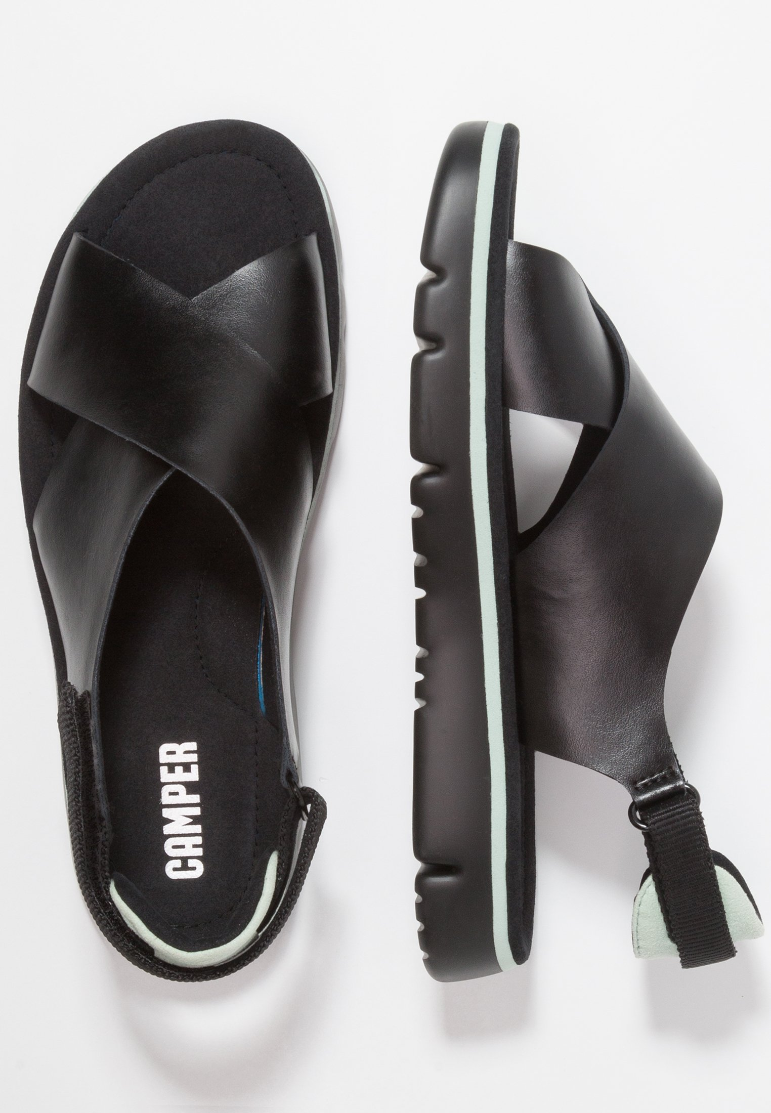 Camper Oruga - Sandali Black NMIw6S1