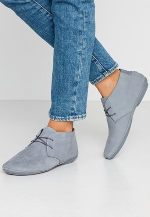 RIGHT NINA - Casual snøresko - medium gray