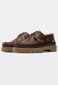 Camper - NAUTICO - Chaussures bateau - brown - 2