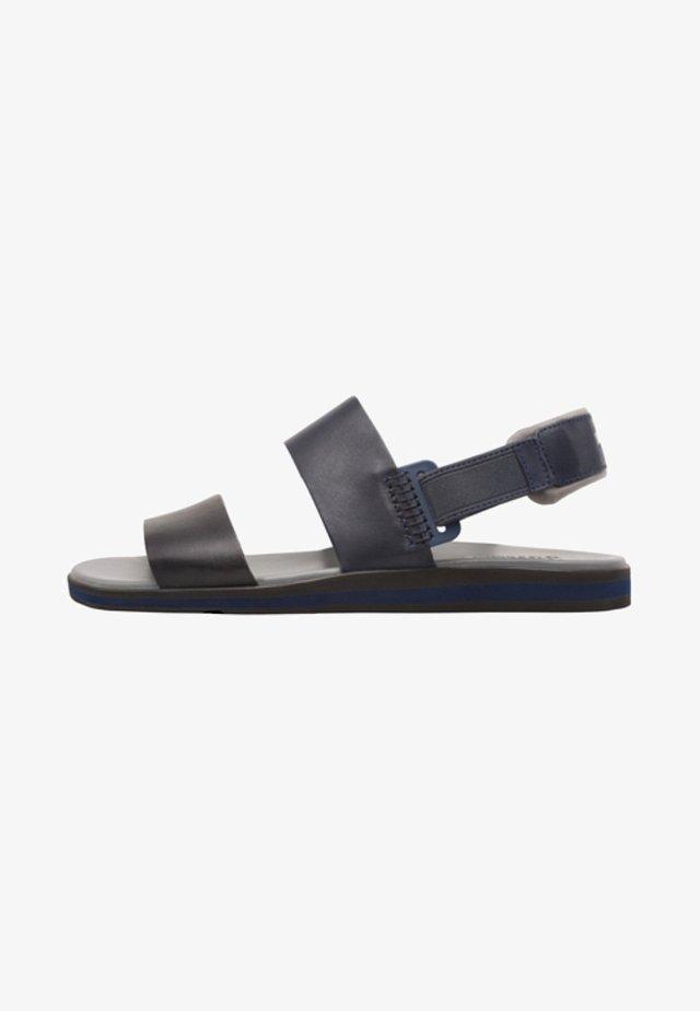 SPRAY - Sandalias - dark blue/black