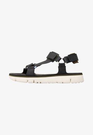 ORUGA - Sandals - black/off-white