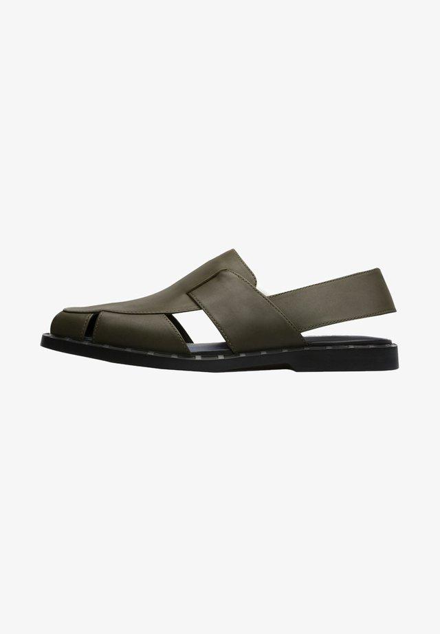 TWINS - Sandals - grün