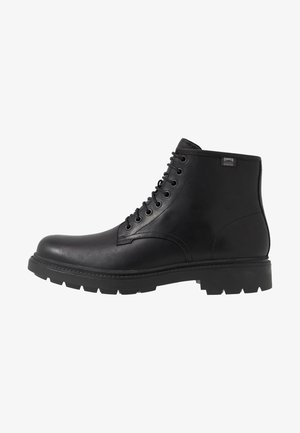 HARDWOOD - Bottines à lacets - black