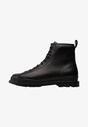 BRUTUS - Lace-up ankle boots - black