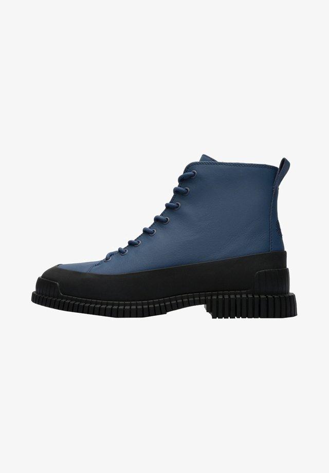 Botines con cordones - Blue