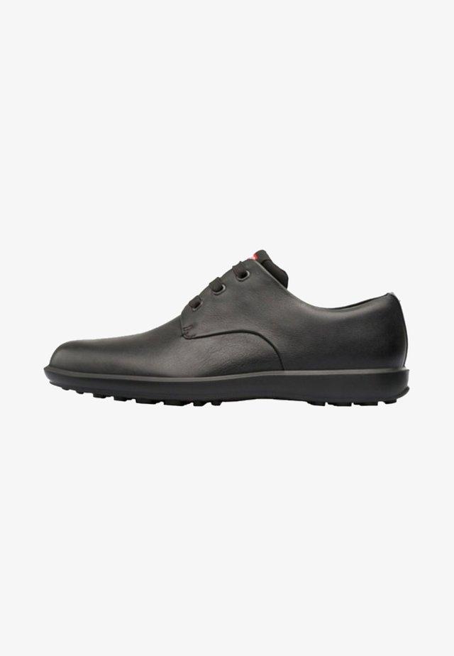 ATOM WORK - Zapatos con cordones - black